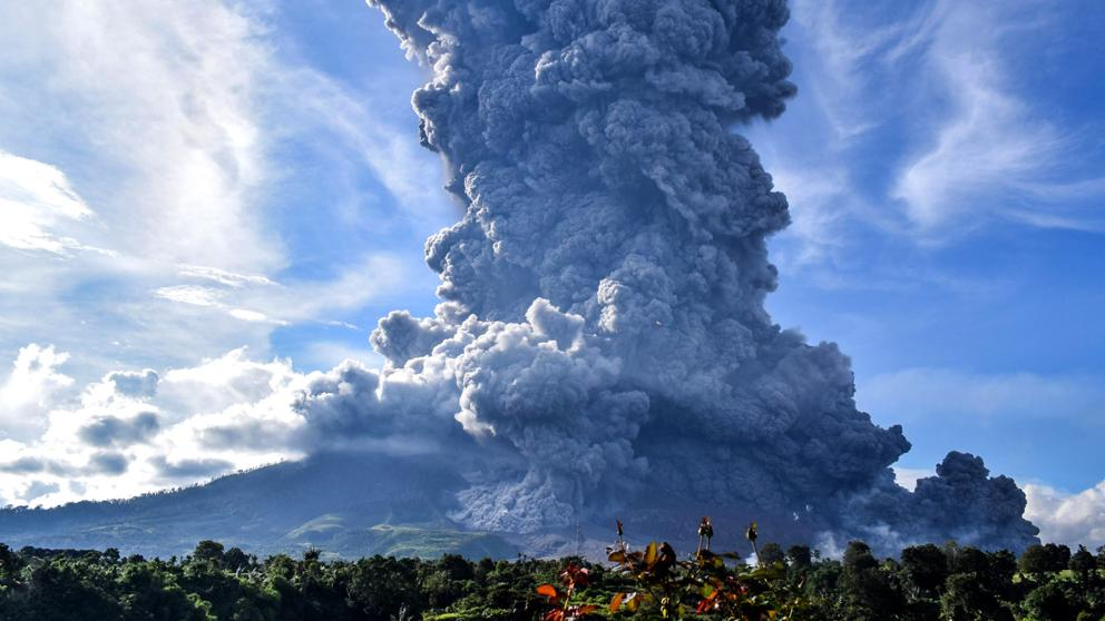 volcán Sinabung