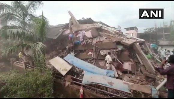 70 personas atrapadas tras derrumbe de edificio en India