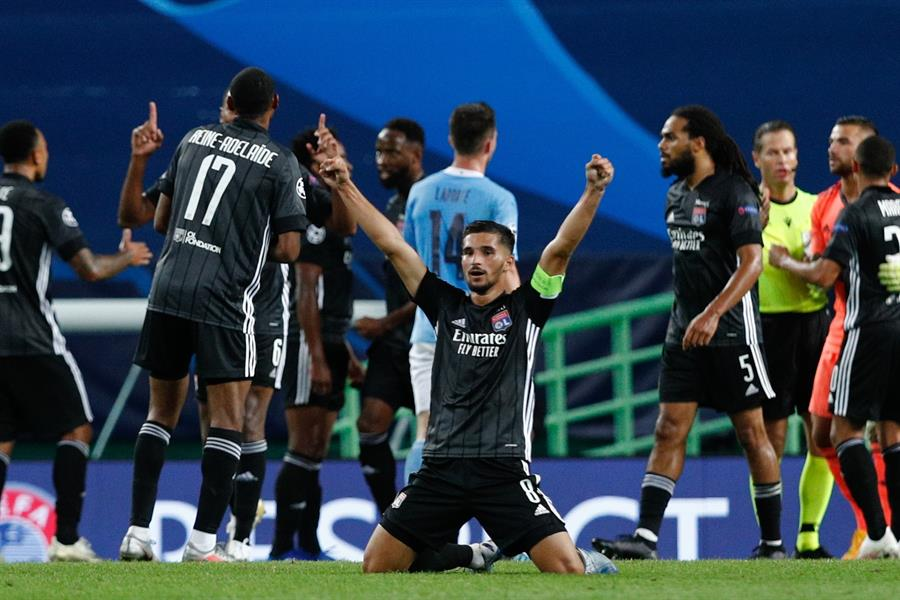 Contra todo pronóstico: Lyon superó al Manchester City en UCL