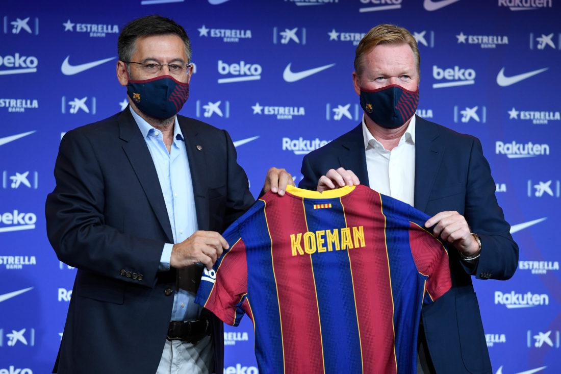 Koeman en su presentación: Hay que recuperar el prestigio del Barcelona