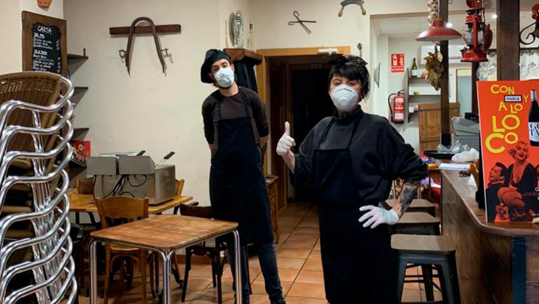 Restaurante en España fue multado por repartir comidas a familias durante cuarentena