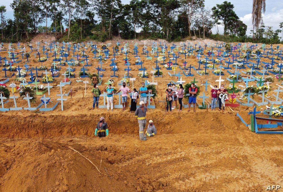 Brasil registró 565 nuevos decesos en 24 horas
