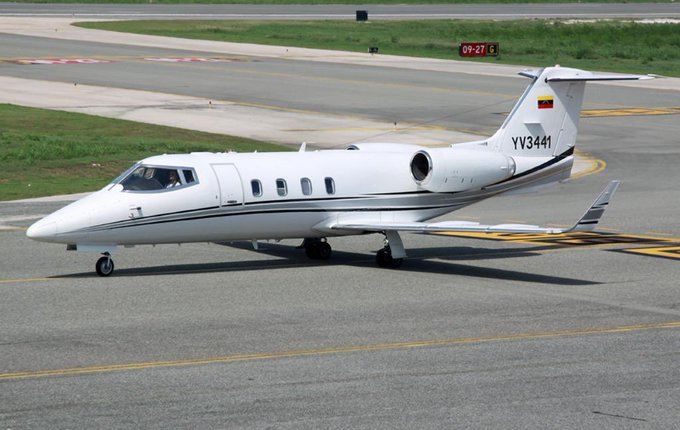 Paparoni dio detalles sobre el avión detenido en EEUU con armas y dinero