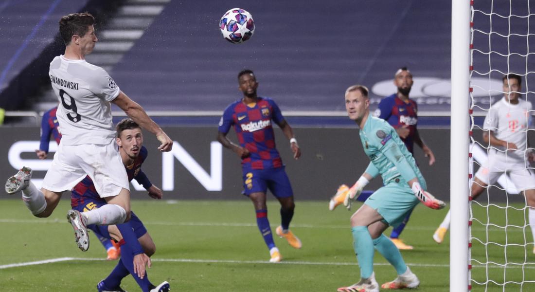 Bayern Munich aplastó 8-2 al Barcelona y ya está entre los mejores cuatro de Europa