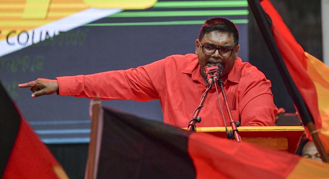Fin de la incertidumbre Guyana tiene nuevo presidente luego de seis meses