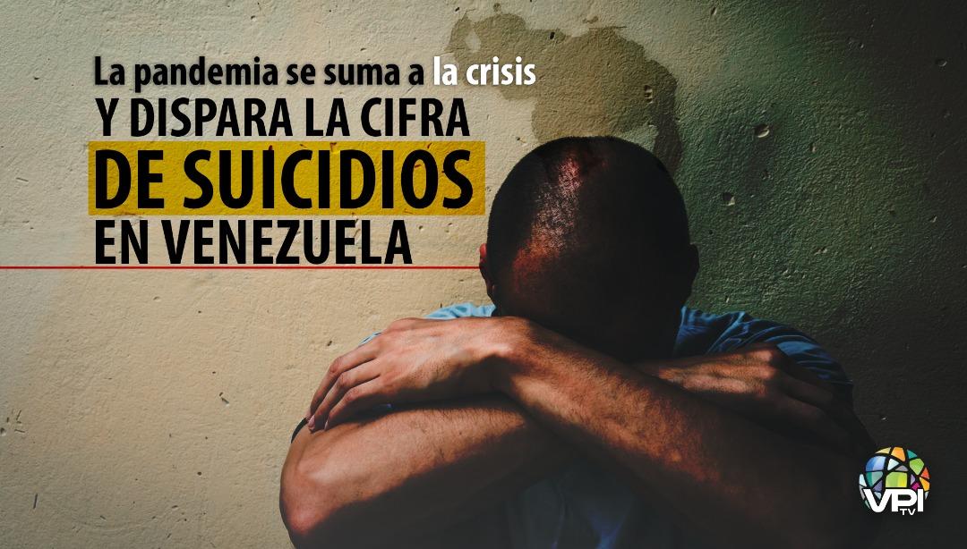 La pandemia se suma a la crisis y dispara la cifra de suicidios en Venezuela