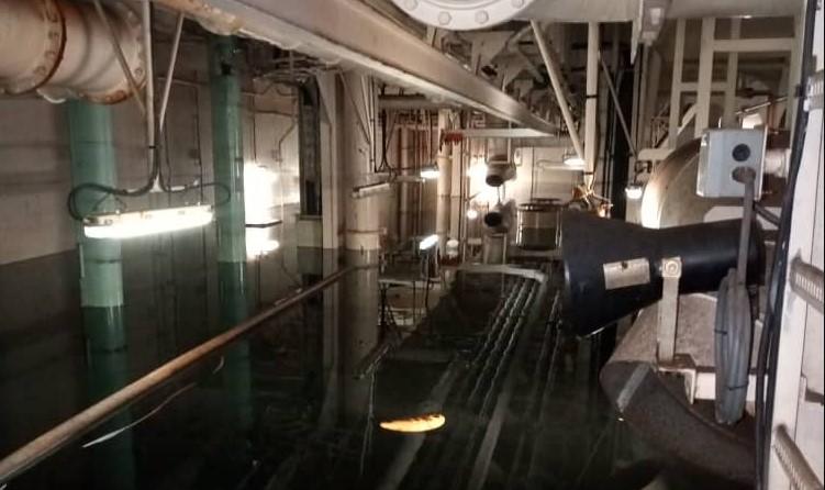 Tanquero cargado con petróleo a punto de zozobrar en el Golfo de Paria