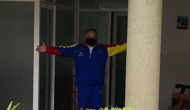 Diosdado Cabello desmintió encontrarse con respirador artificial