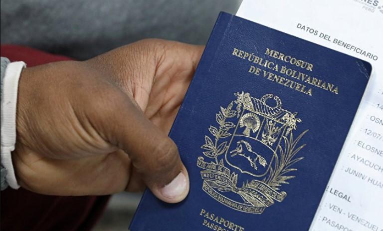 Reino Unido aceptará pasaportes venezolanos hasta cinco años después de su vencimiento