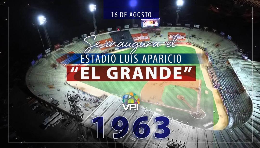 """Estadio Luis Aparicio """"El Grande"""" cumple 57 años"""