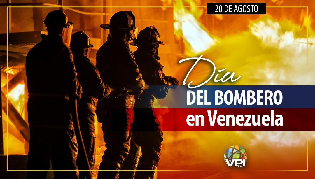 Día del Bombero en Venezuela