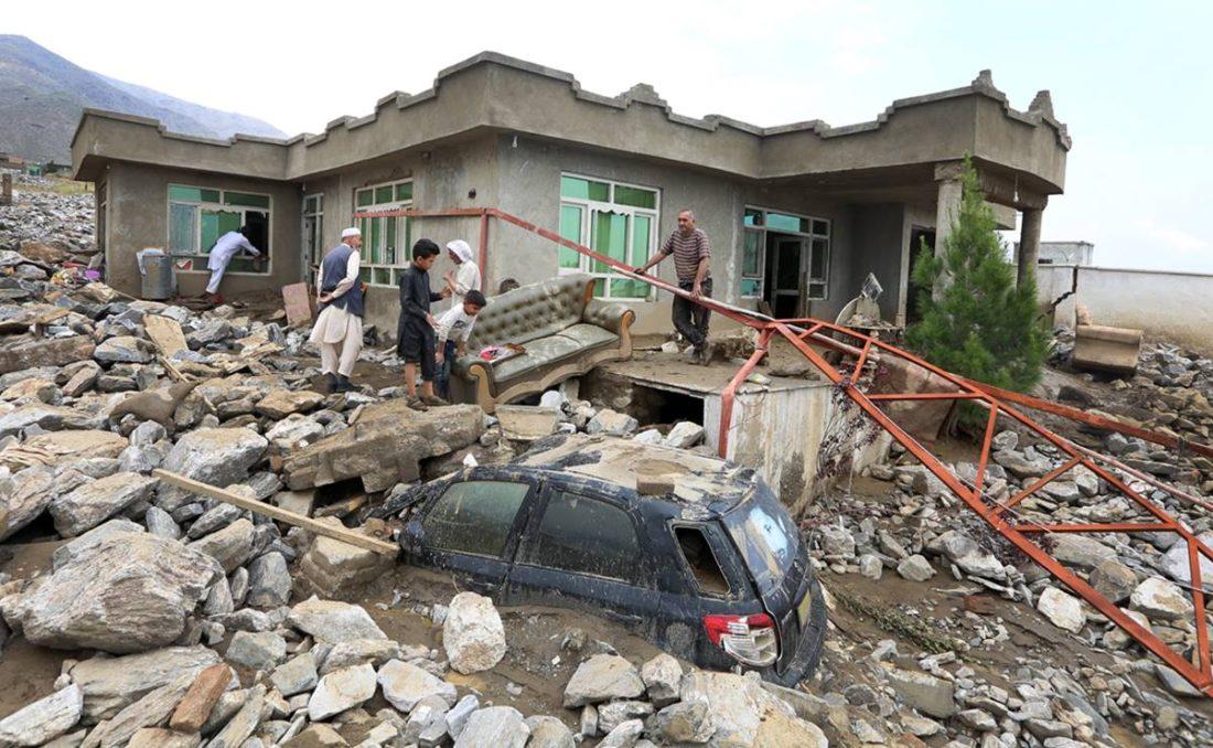 Inundaciones en Afganistán dejan 100 muertos