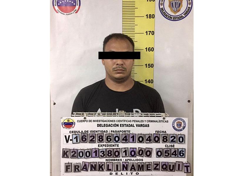 Detenido ciudadano en Vargas por maltrato infantil