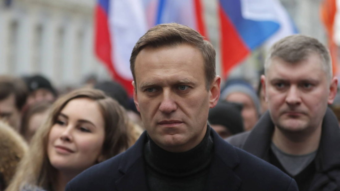 Líder Alexei Navalny - Rusia
