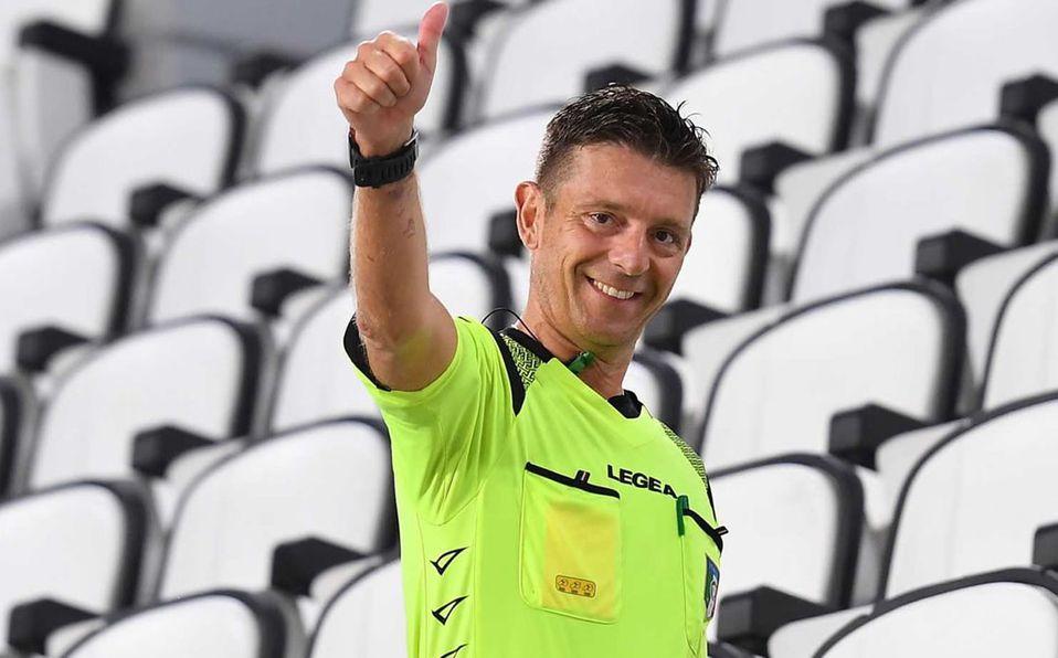 #Deportes | Árbitro Gianluca Rocchi pitó su último partido en la Liga italiana de fútbol