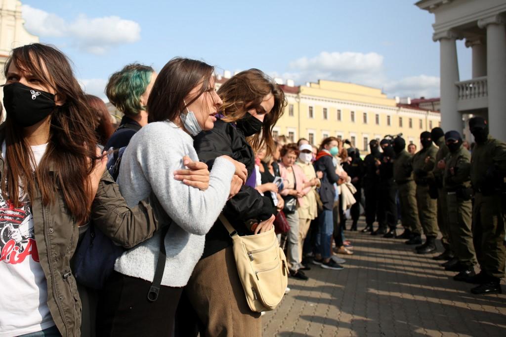 Decenas de mujeres detenidas en Bielorrusia en jornada de protestas