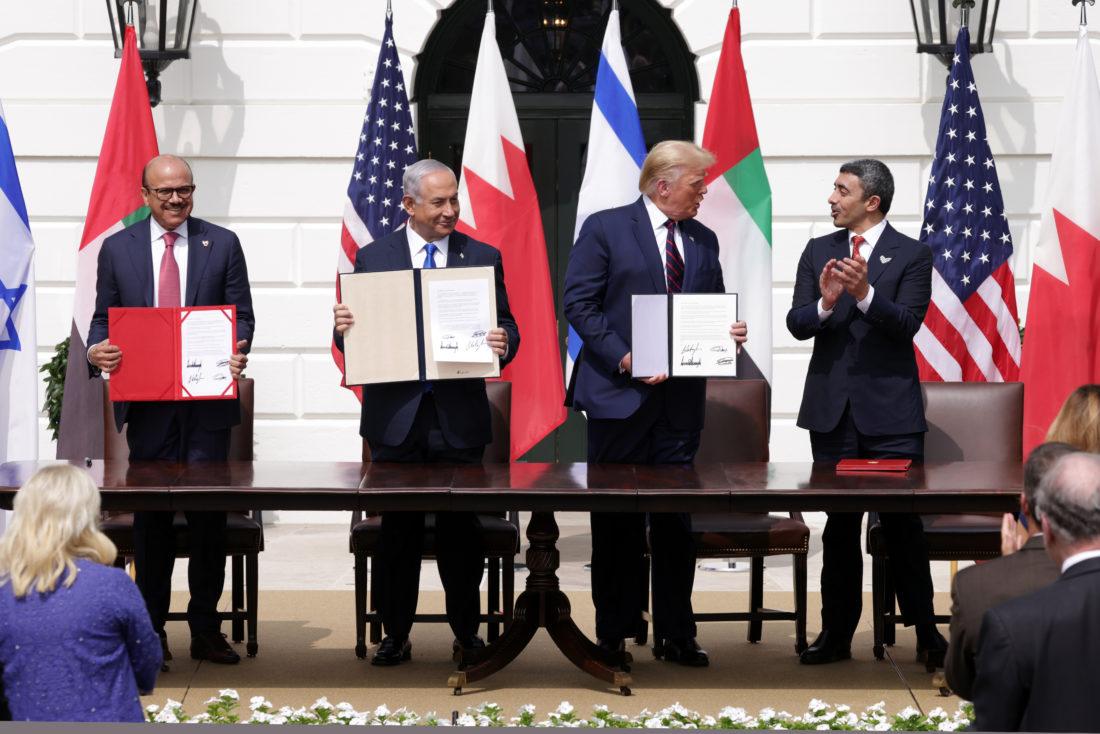 Histórico acuerdo en la Casa Blanca: Israel pactó con Baréin y Emiratos Árabes