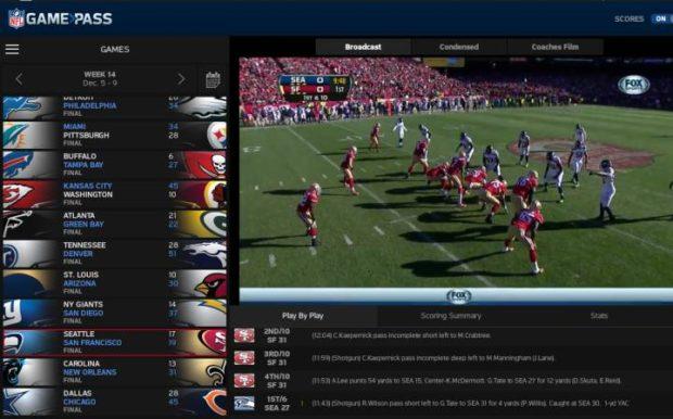 A través de televisión por cable y en 'streaming', se seguirá la campaña de la NFL