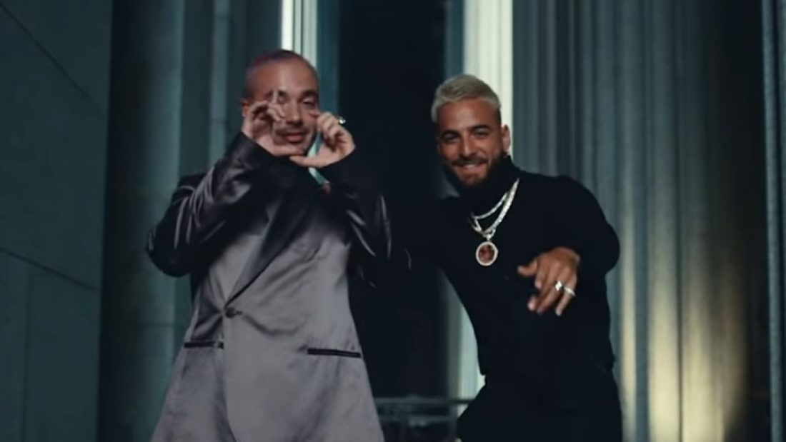 J Balvin y Maluma