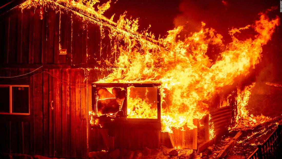 Incendios Oregón