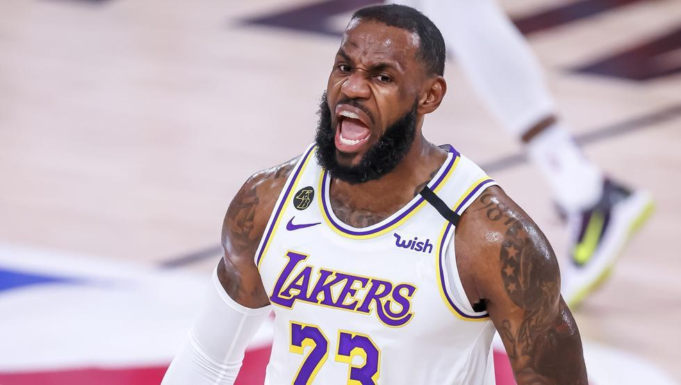 Con un Lebron James inspirado, los Lakers avanzaron a la final de conferencia
