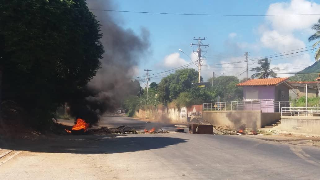 Protestas en Nueva Esparta
