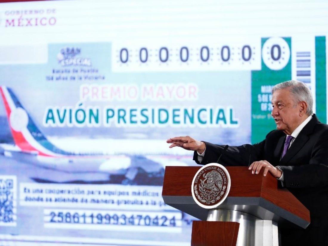 Rifa del avión presidencial de México será este martes