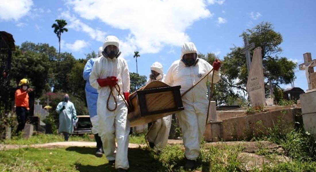 Así son las despedidas a las víctimas del coronavirus covid-19 en Venezuela