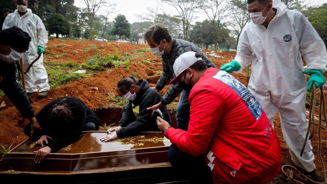 Brasil muertes por covid-19