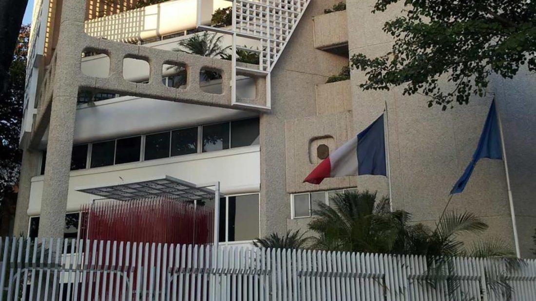 Francia-Embajada