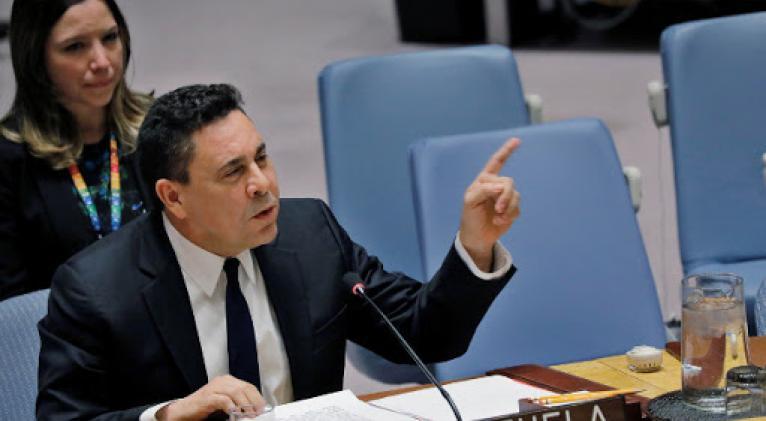 Administración de Maduro entregó informe de DDHH a secretario general de la ONU