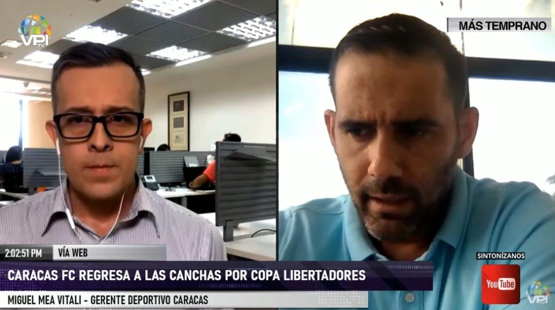 Caracas FC se prepara para regresar a las canchas