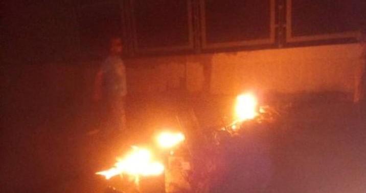 Habitantes de Maracaibo protestaron por cortes eléctricos