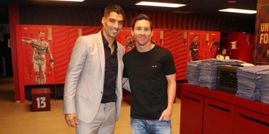 Sigue el malestar: contundente reacción de Messi por la salida de Suárez