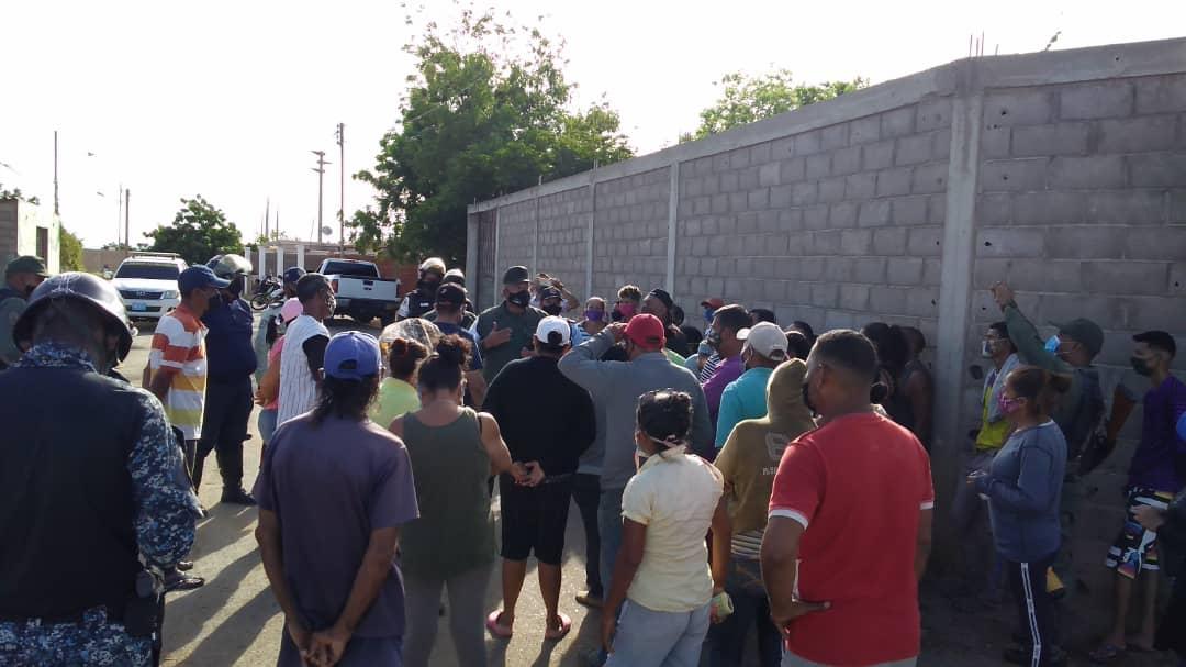 Protesta por gas en Punto Fijo: cumplen tres meses sin el servicio (+Fotos)