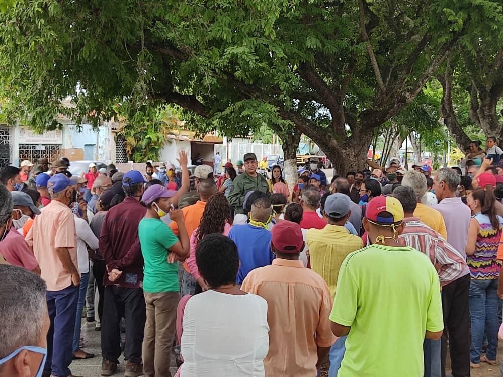Habitantes de Caicara (Portuguesa) exigen agua por tuberías (+Fotos)