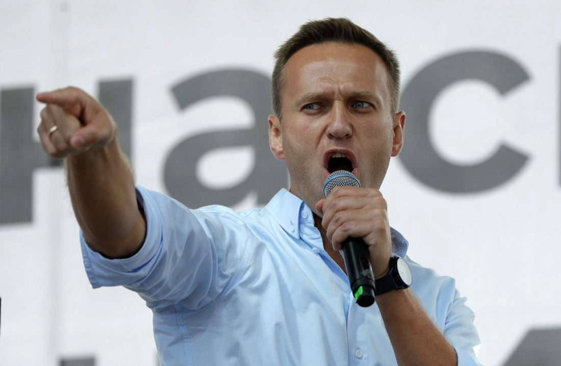 Policía - Alexei Navalni