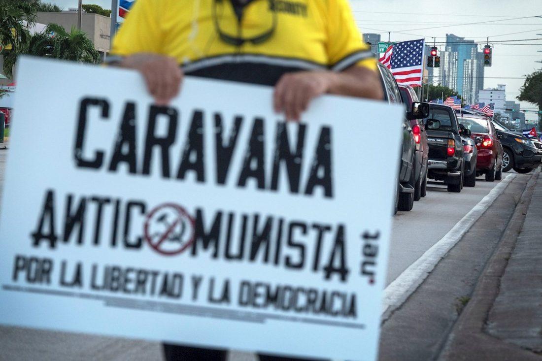 Caravana en Miami
