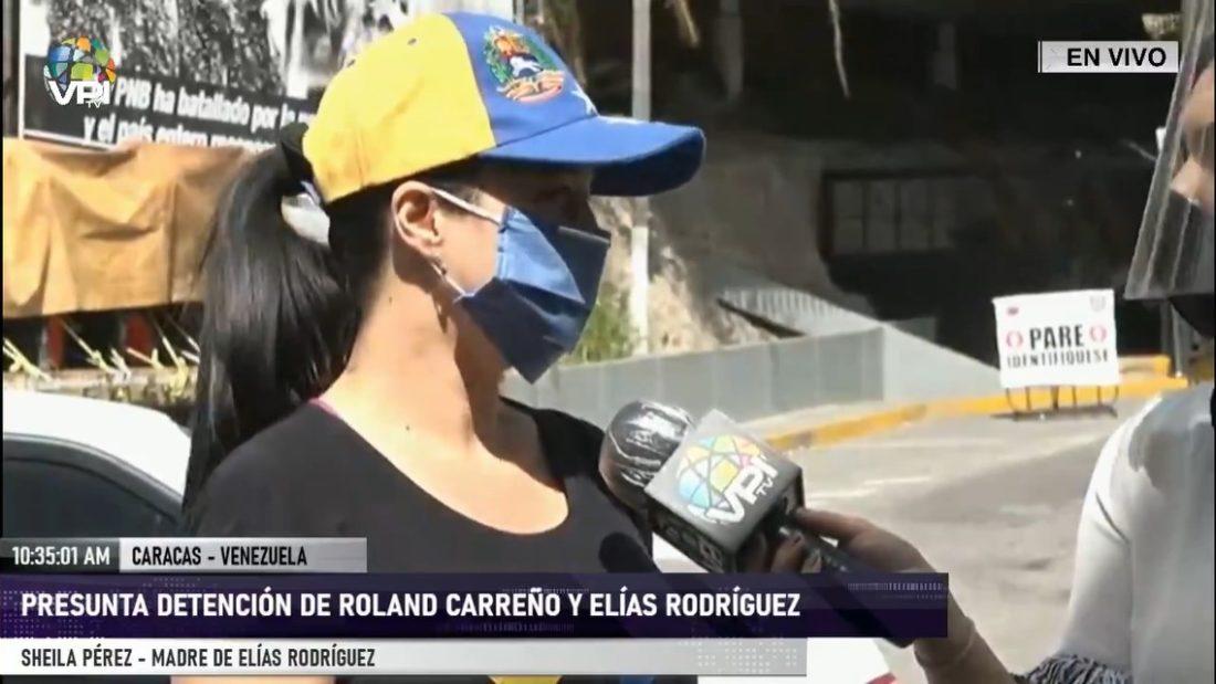 Madre de Elías Rodríguez