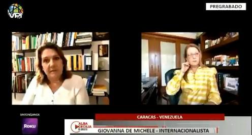 Giovanna De Michele, internacionalista