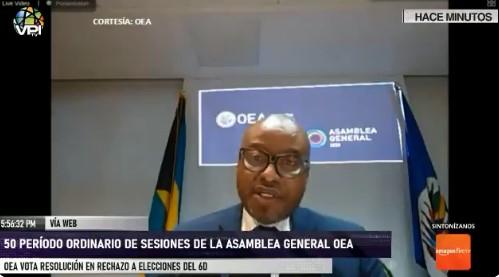 OEA aprobó resolución en rechazo a las elecciones del 6D (+ Video)
