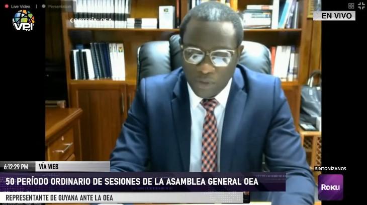La crisis sanitaria por la covid-19 fue el tema central en la Asamblea de la OEA
