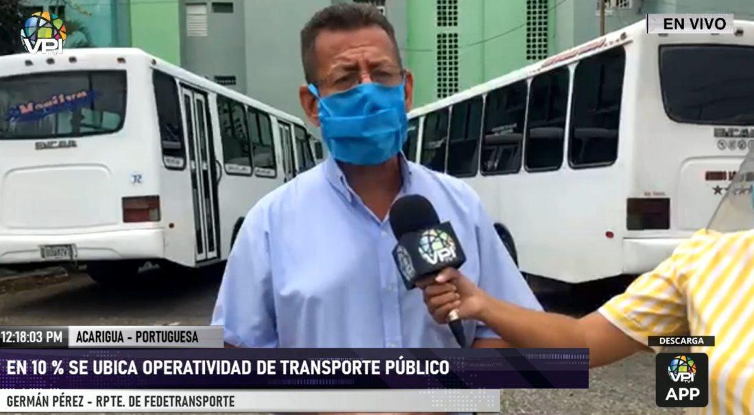 ¡En paro técnico! Transportistas de Portuguesa exigen gasolina