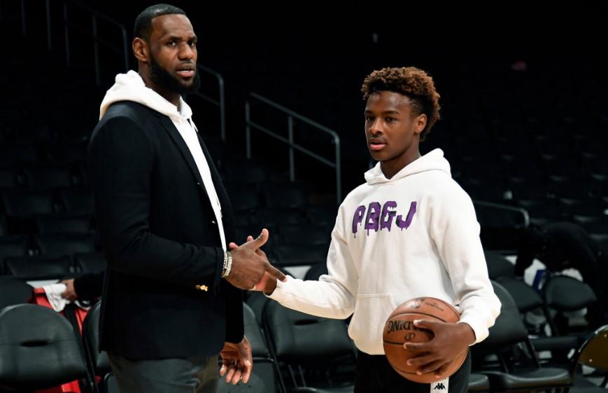 ¿Estrella de segunda generación? Hijo de LeBron James despunta en la secundaria