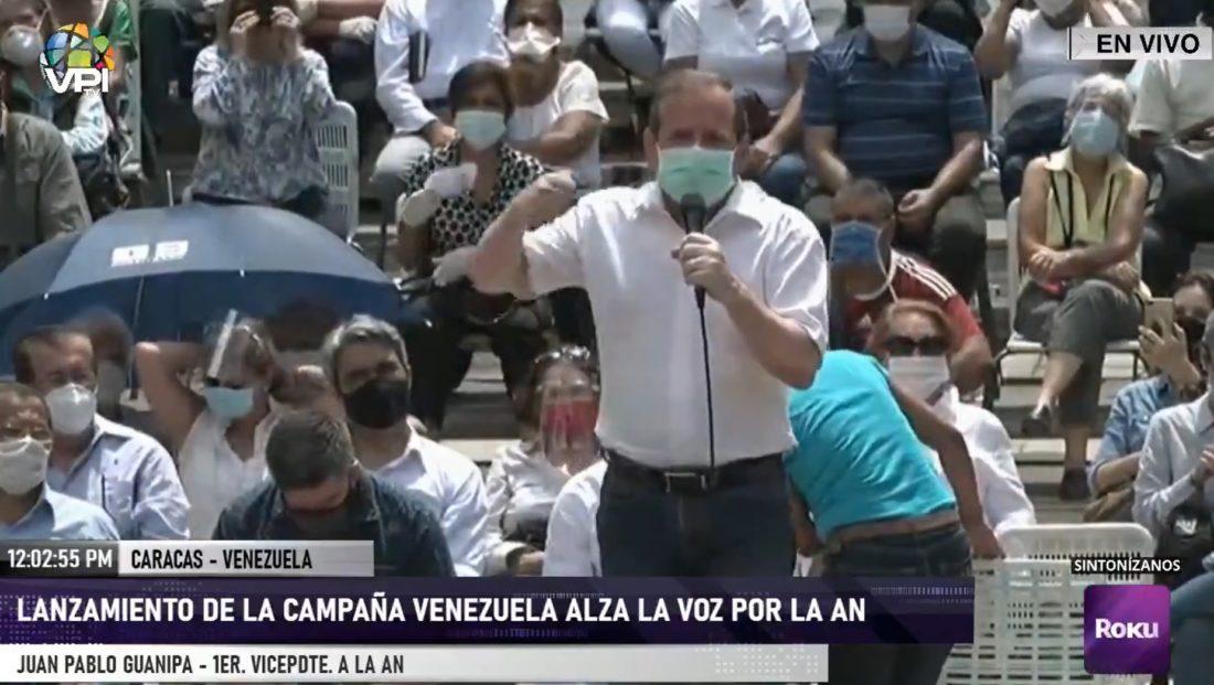 Juan Pablo Guanipa: Hay que seguir luchando por condiciones electorales
