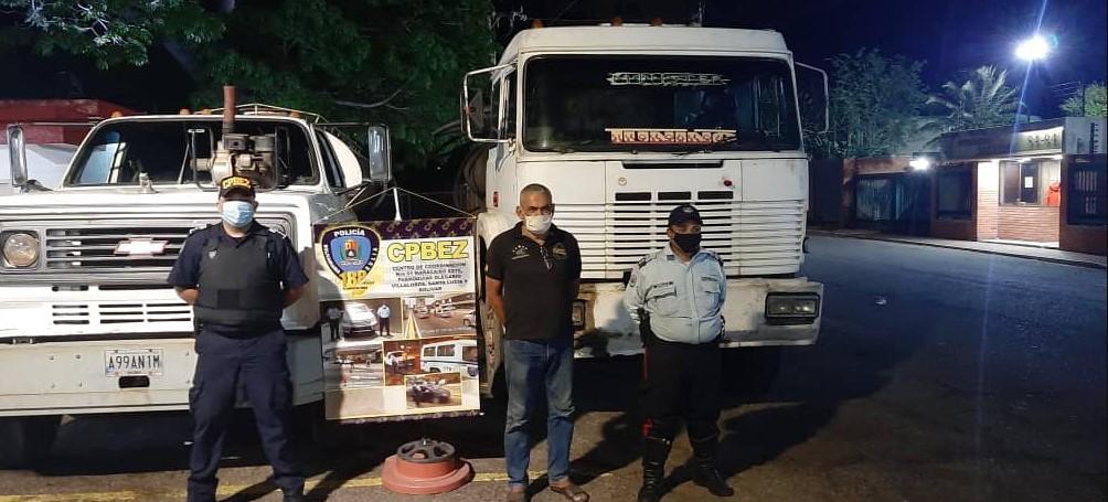 ¡Por robar combustible! Zuliano fue detenido 'in fraganti'