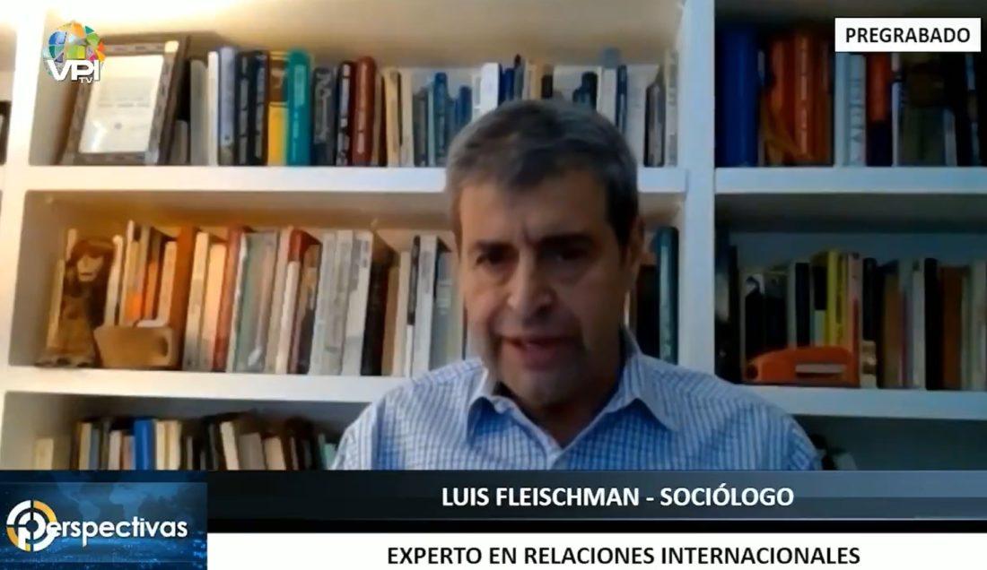 Luis Fleischman: Se debe aplicar un bloqueo naval para que no entren armas y drogas a Venezuela