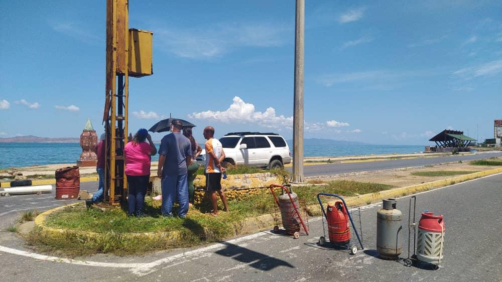 Protesta por gas en Cumaná fue dispersada por la Guardia Nacional