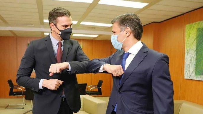 Leopoldo López sostuvo un encuentro con el presidente de España