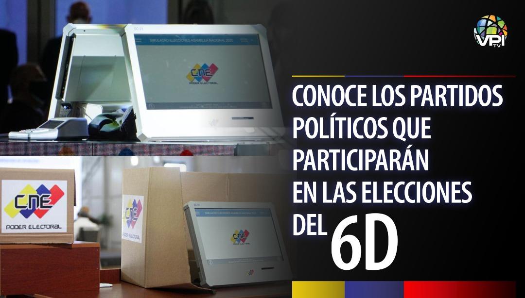 Partidos Políticos - Elecciones 6D